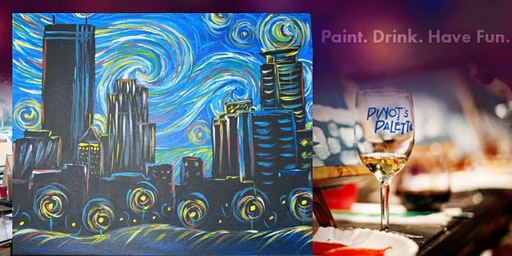 Starry Night Over Minneapolis w/ Bottomless Mimosas at the bar!