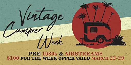 Vintage Camper Week at Paradise on Lake Texoma
