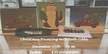 Christmas Painting with Beth Tibbs!