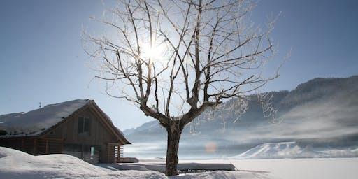 Schneelauschen - ein Dezemberschreibabend