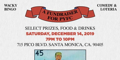 Wacky Bingo: An evening of Stand-up Comedy & Loteria tickets