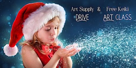 Kid's Art Supply Drive & Free Art Class tickets