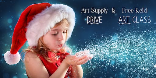 Kid's Art Supply Drive & Free Art Class