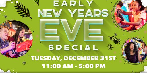 New Years Eve Schools Out - Play's In Arcade Event!