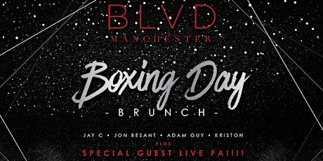 Boxing Day BLVD (Brunch & After Party) tickets