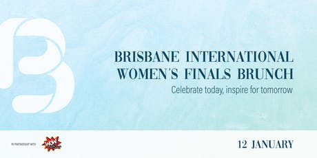Brisbane International Women's Finals Brunch tickets