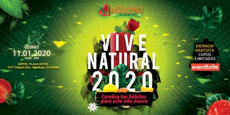 Vive Natural 2020 tickets