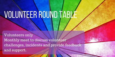 Volunteer Round Table & Play Space tickets