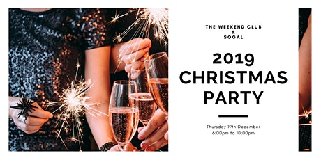 The Weekend Club & SoGal - 2019 Christmas Party tickets