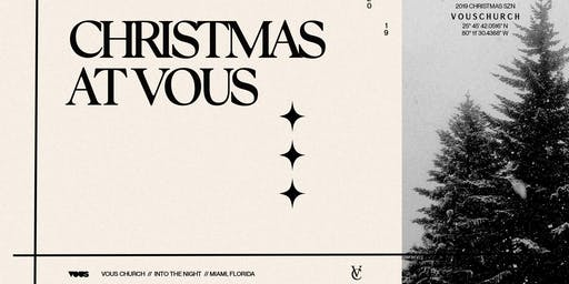 Christmas at VOUS