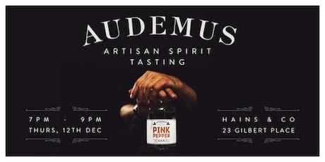 Audemus - Gin & Spirit Tasting tickets