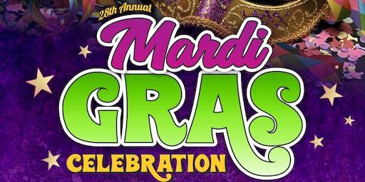28th annual Mardi Gras Celebration!