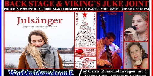 """Julsånger"" Iris Bergcrantz, Anna-Lena Laurin & Anders Krogh Fjeldsted"