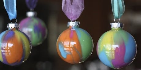 Kids Acrylic Pouring on Decorative Ornaments tickets