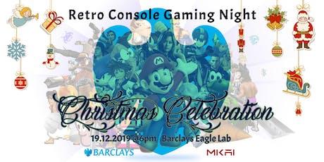 Retro Console Gaming Night and Christmas Celebration   MKAI December Meetup tickets