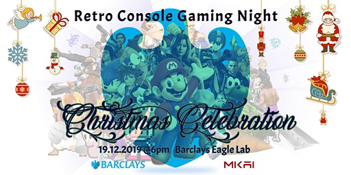 Retro Console Gaming Night and Christmas Celebration | MKAI December Meetup