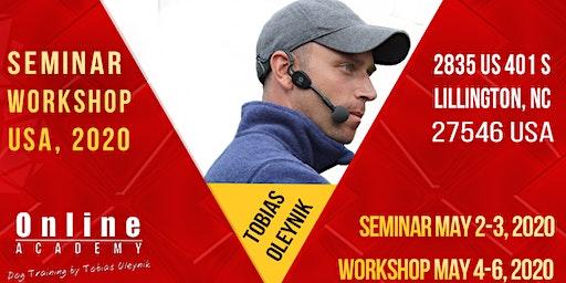 Tobias Oleynik USA 2020 Seminar and Workshop