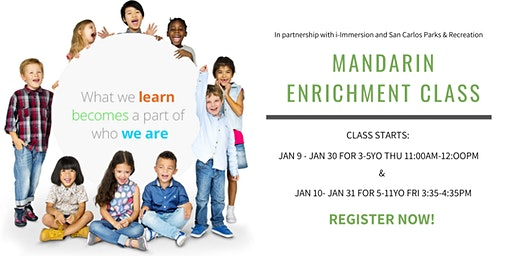 i-Immersion's Mandarin Enrichment Class