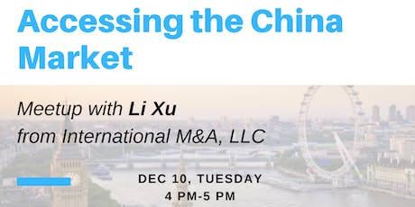 Accessing the China Market tickets