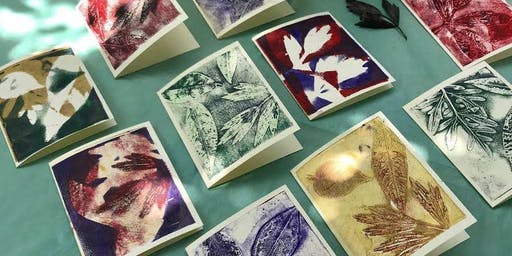 Gel Plate Printing Inspired by Nature with Elaine Chu