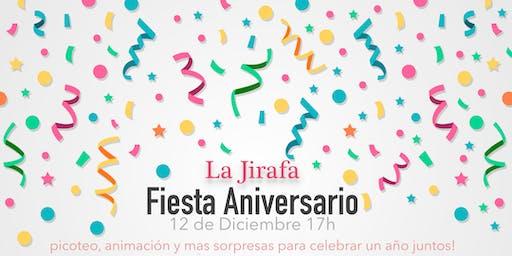 Fiesta de aniversario de La Jirafa