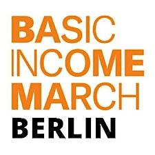 Basic Income March Berlin logo