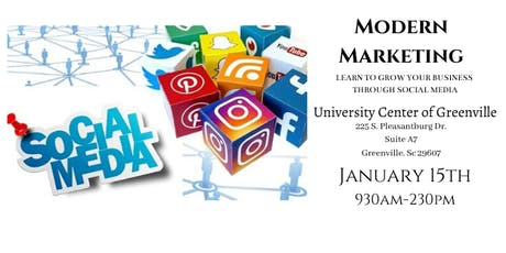 Modern Marketing- Learn to grow your Business through Social Media tickets