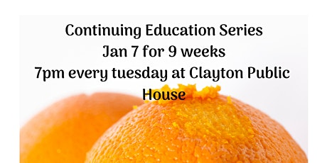 Elevate Continuing Ed Series Jan 2020 tickets