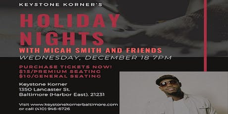 Holiday Nights with Micah Smith and Friends tickets