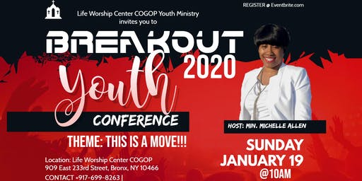 BREAKOUT '20 YOUTH CONFERENCE
