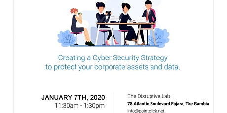 Create a Cyber Security Strategy to protect your corporate assets and data tickets
