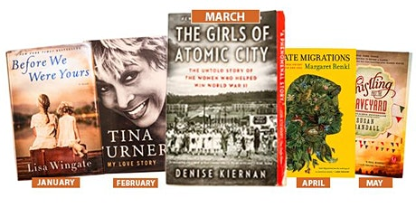 Tennessee's Book Club - The Girls of Atomic City by Denise Kiernan tickets