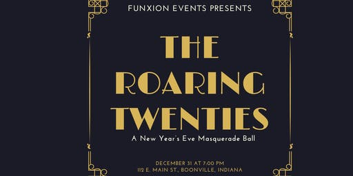 The Roaring 20s: A NYE Masquerade Ball