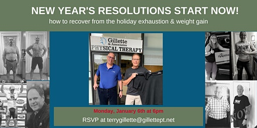 "New Year""s Resolutions Start Now!"
