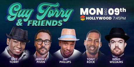 Guy Torry and Friends - Jeremy Piven, Tony Rock and more! tickets