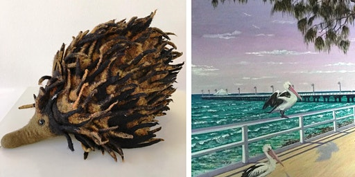 Free Artist Demonstrations: Felt and Oil Painting