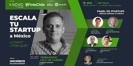 Escala tu startup a México entradas