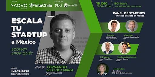 Escala tu startup a México