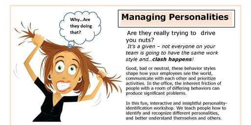 Clash Happens! How to Successfully Manage Personalities
