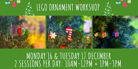 Lego Ornament Workshop tickets