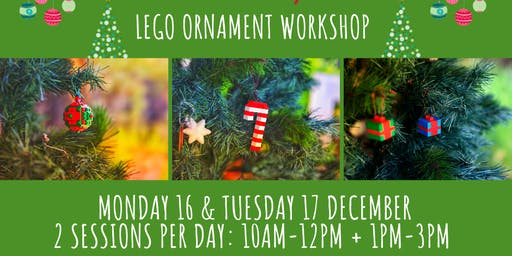 Lego Ornament Workshop
