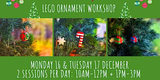 Lego Ornament Workshop