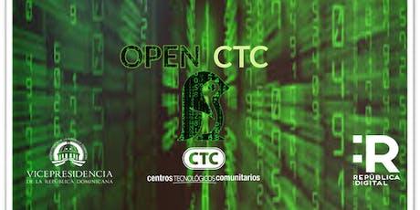 Asamblea OPEN-CTC (lanzamiento de Brigadas del Desarrollo Tecnológico) boletos