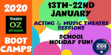 Theatre Oz Bootcamps! tickets