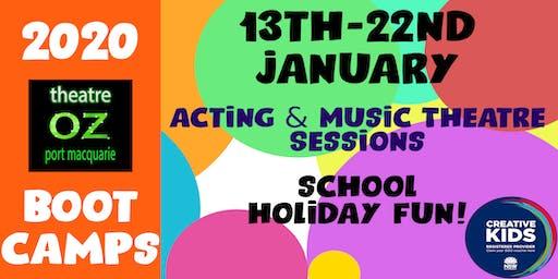 Theatre Oz Bootcamps!