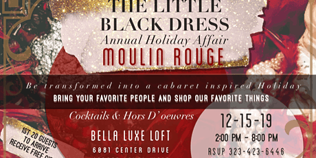 THE LITTLE BLACK DRESS MOULIN ROUGE HOLIDAY tickets