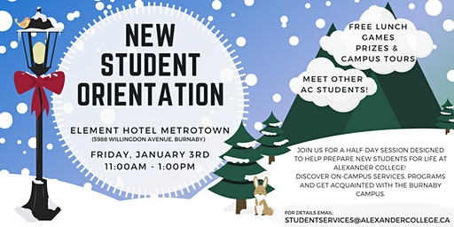 Alexander College - New Student Orientation