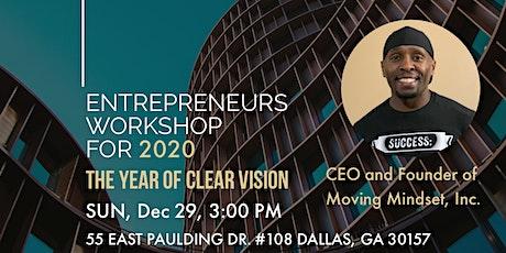 Entrepreneurs Workshop tickets