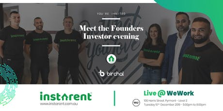 Instarent Investors info night tickets