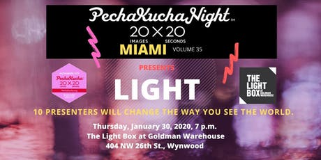 PechaKucha Night Miami Vol. 35 LIGHT tickets